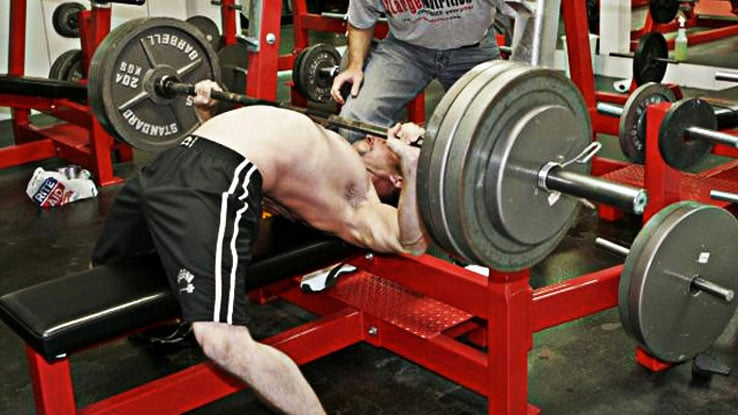 Arching The Bench Press
