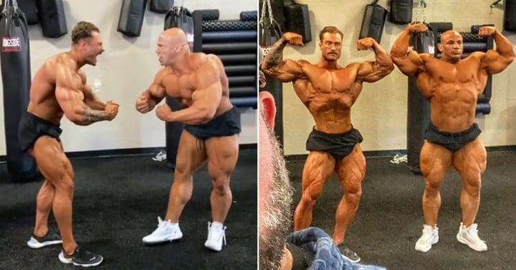 Big Ramy And Chris Bumstead