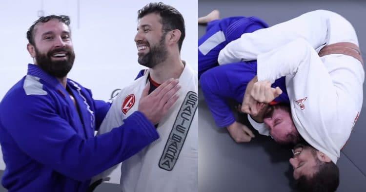 Bradley Martyn vs Black Belt BJJ