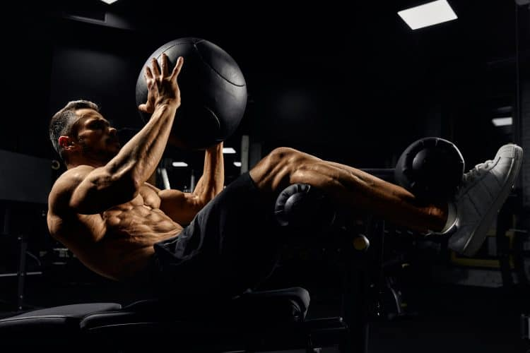 Building Core Muscles With Ball