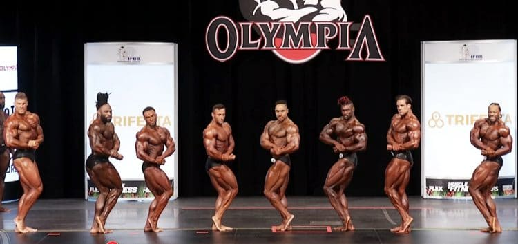 Classic Physique 2nd Callout