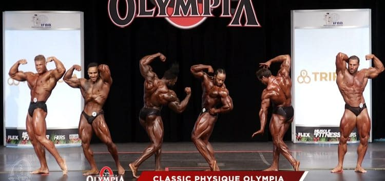 Classic Physique 3rd Callout
