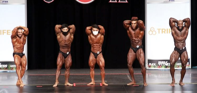 Classic Physique 5th Callout