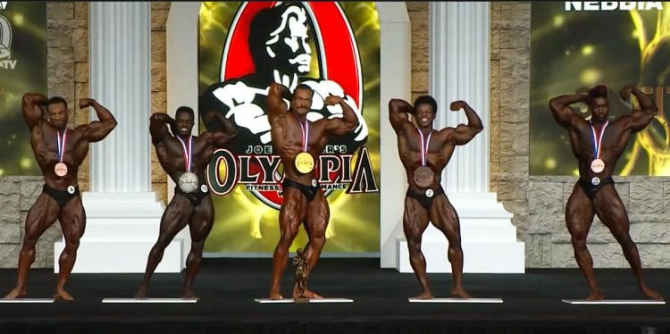 Classic Physique Top 5