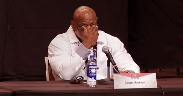 Dexter Jackson at 2020 Olympia Press Conference