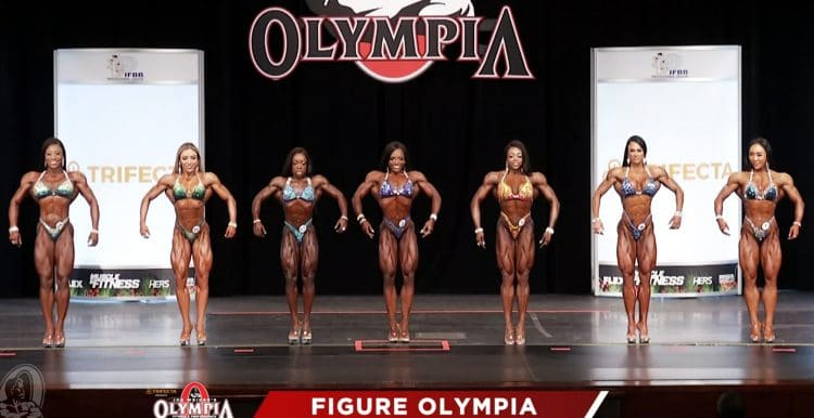 Figure Olympia 1st Callout