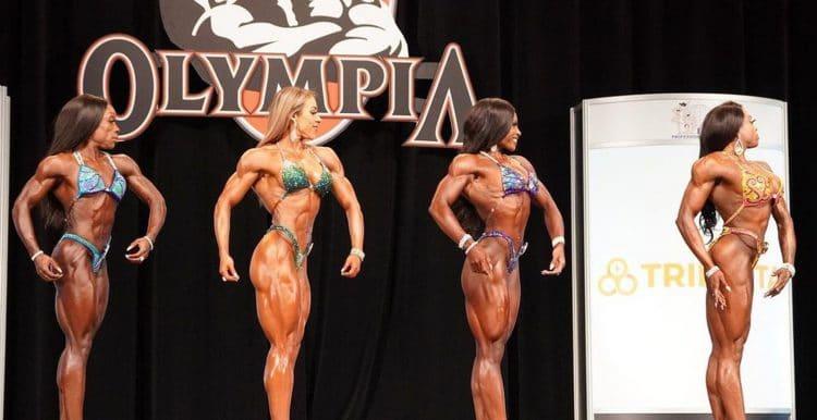 Figure Olympia Final Callout