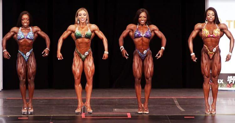 Figure Olympia Pre Judging