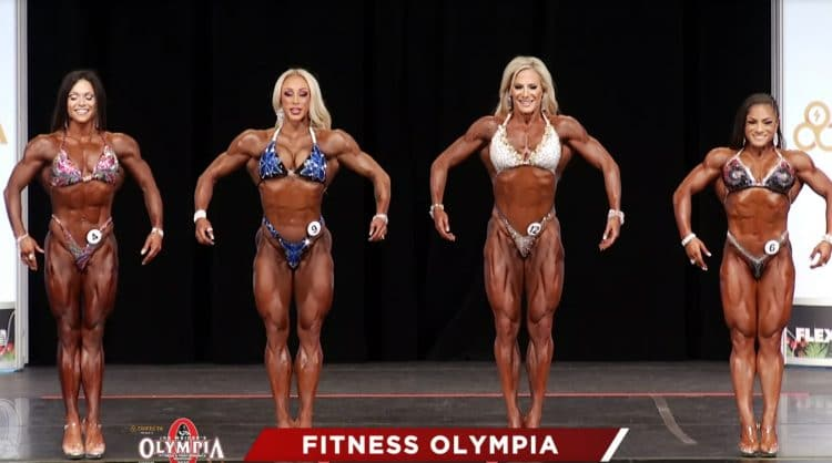 Fitness Olympia Final Callout