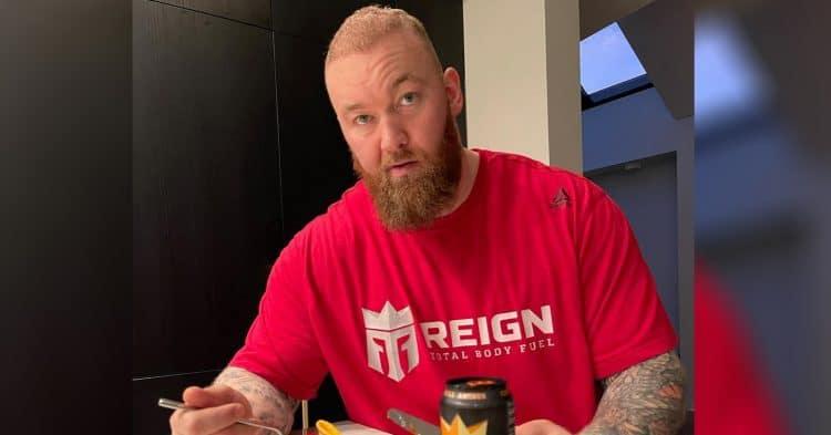 Hafthor Bjornsson Weight Loss