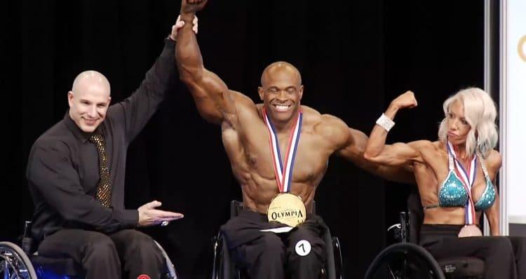 Harold Kelley Wheelchair Winner