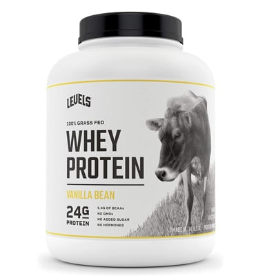 Levels 100 Grass Fed Whey Protein