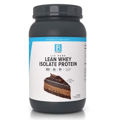 Liv Body Liv Pure Lean Whey Isolate Protein