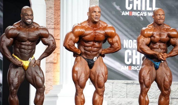 Men Bodybuilding Olympia Pre Judging 1