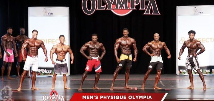 Men Physique 1st Callout