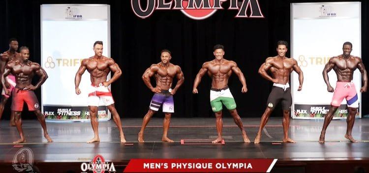 Men Physique 3rd Callout