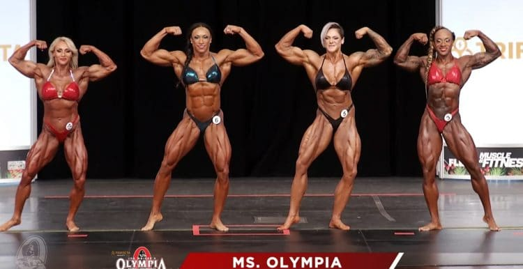 Ms. Olympia 2nd. Callout