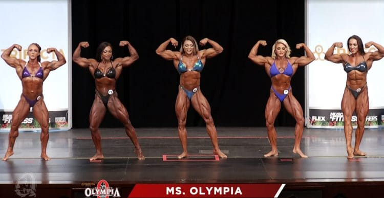 Ms. Olympia 3rd Callout