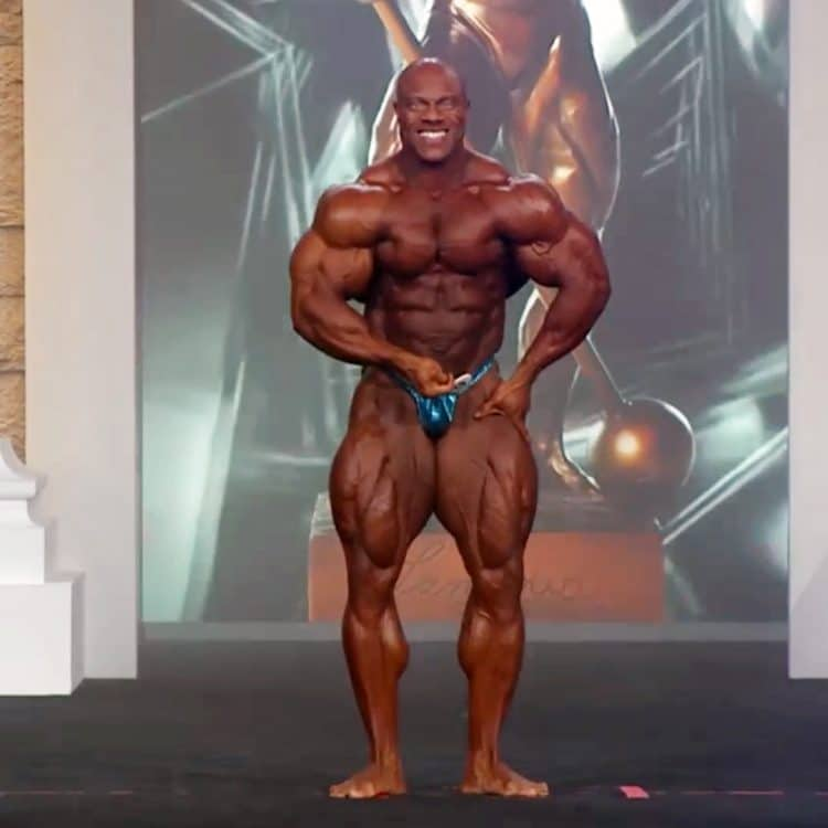 Phil Heath At Olympia 2020 Finals