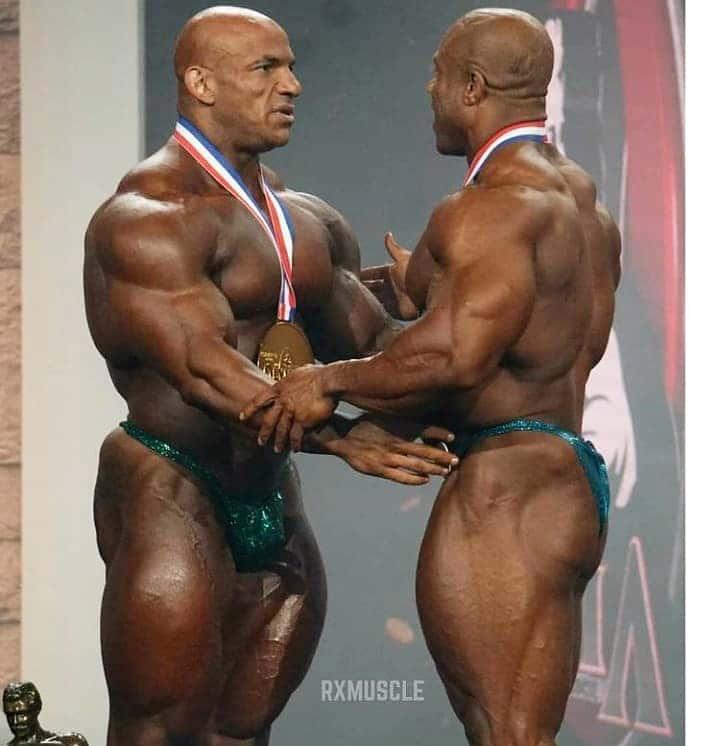 Phil Heath With Big Ramy