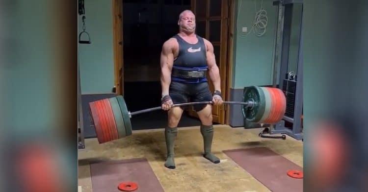Rauno Heinla 470kg Deadlift