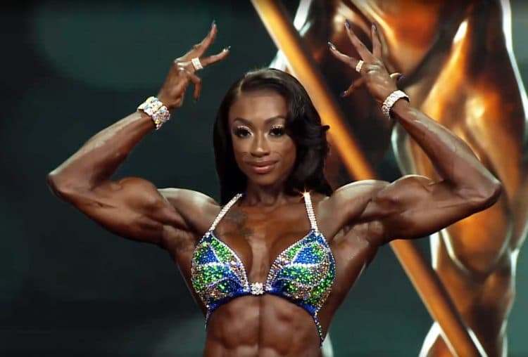 Shanique Grant at 2020 Olympia Finals