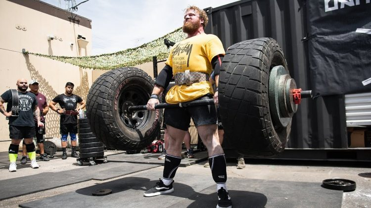 Strongman Deadlift