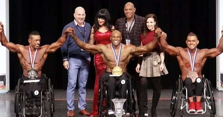 Wheelchair Olympia Final Results