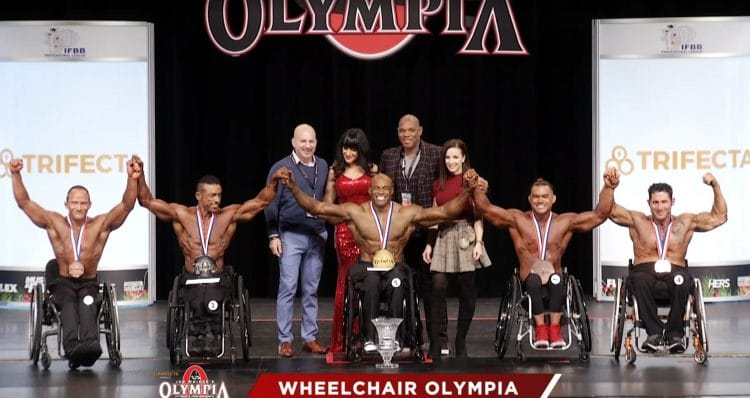 Wheelchair Olympia Top 5