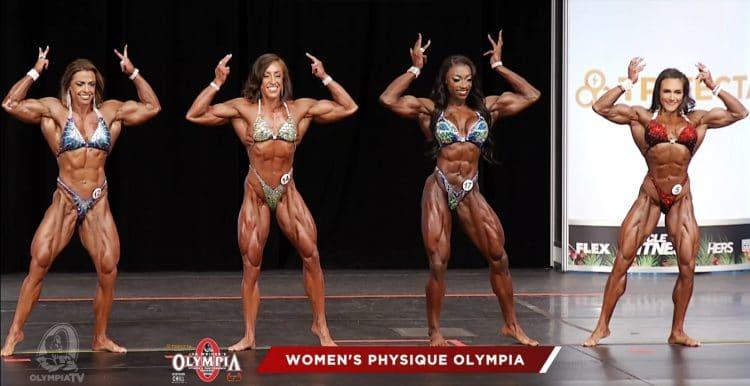 Women Physique 1st Callout