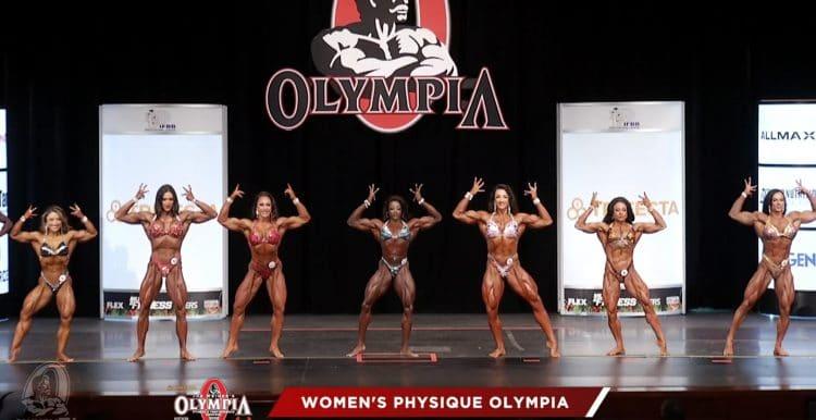 Women Physique 2nd Callout