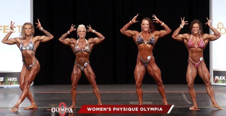 Women Physique 3rd Callout