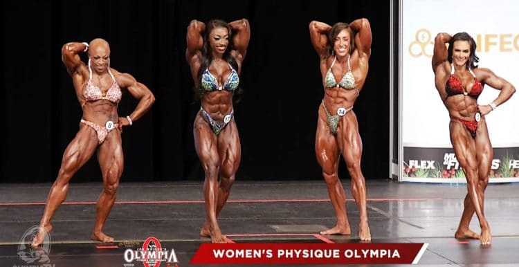 Women Physique Final Callout