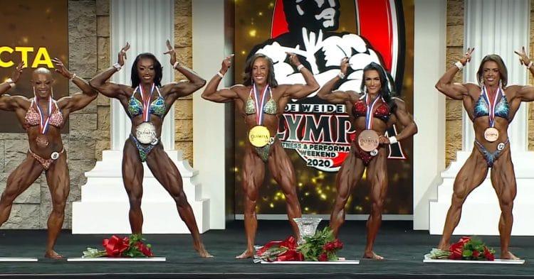 Women Physique Top 5