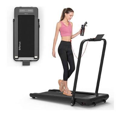 Bifanuo 2 In 1 Folding Treadmill