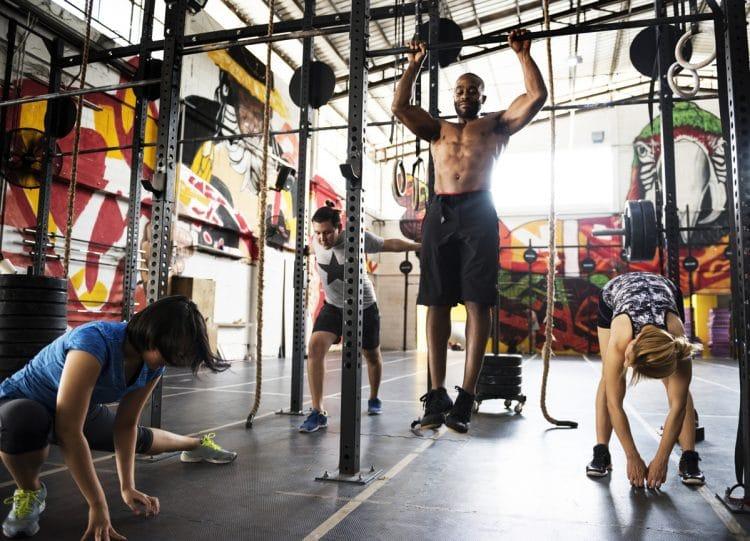 Crowded Gym