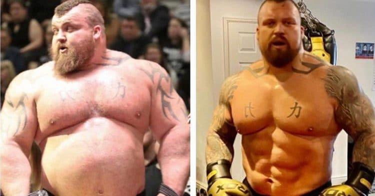 Eddie Hall Weight Loss 1