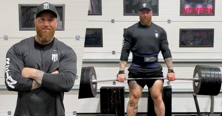 Hafthor Bjornsson Deadlift Tips