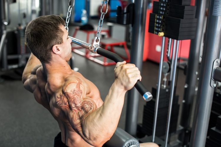 Shoulder Pull Down Machine