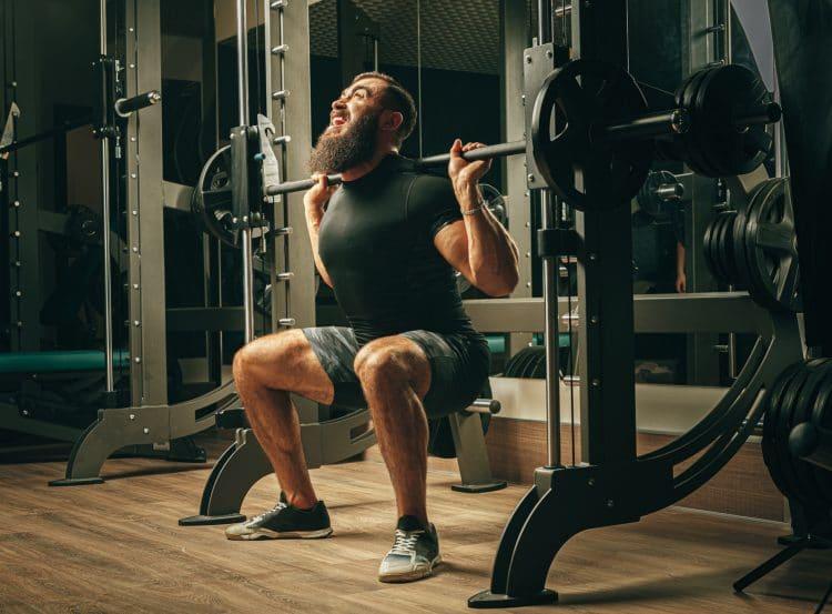 Training Machine Squat