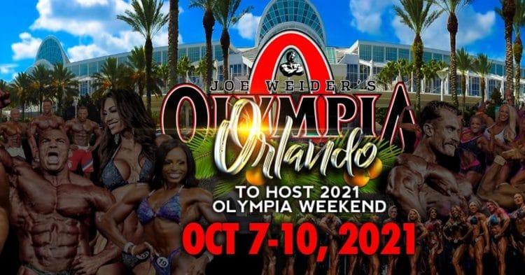 2021 Olympia Dates