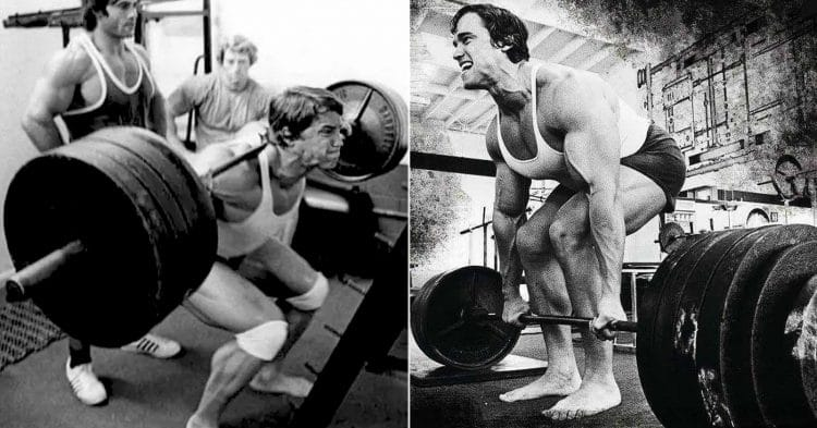 squats and deadlifts
