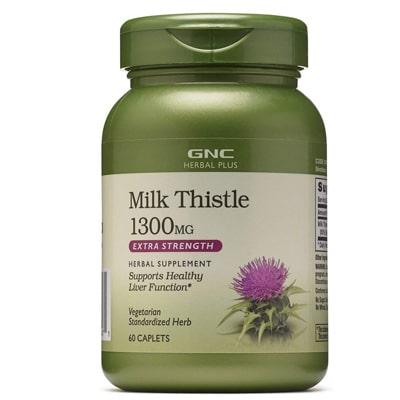 Gnc Herbal Plus Milk Thistle