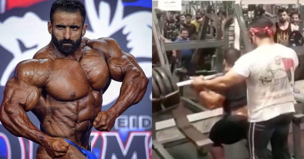 Hadi Choopan Squats Some Heavy Weight While Prepping For 2021 Olympia –  Fitness Volt