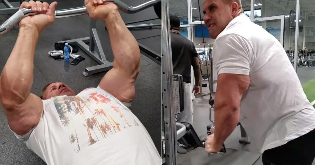 Jay Cutler Arm Workout