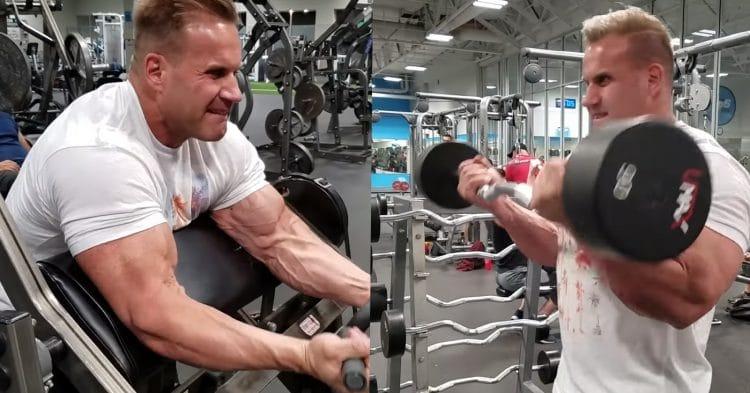 Jay Cutler Upperbody Workout