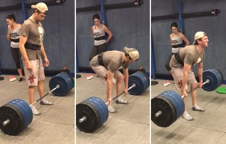 Trump Junior Deadlift