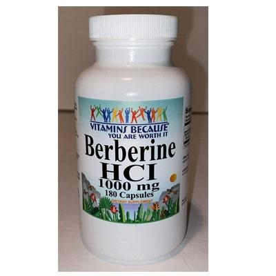 Vitamins Because Berberine