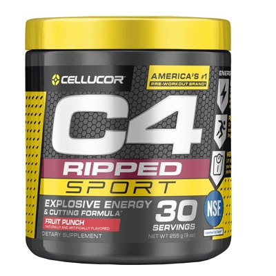 C4 Ripped Sport Pre Workout