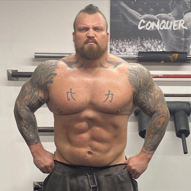 Eddie Hall The Beast